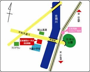 広島教会地図